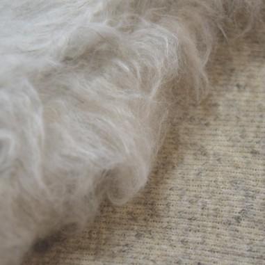 Hemp and wool twill fabric