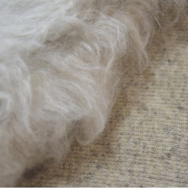 Tessuto di canapa e lana