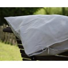 Fundas de almohada de cáñamo puro